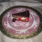 Chocolate Covered Cherry Cheesecake