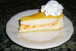 Orange Creme Cheesecake