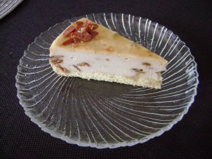Maple, Brown Sugar and Bacon Cheesecake