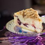 Cranberry Streusal Cheesecake