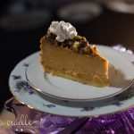 Maple Pumpkin Walnut Cheesecake